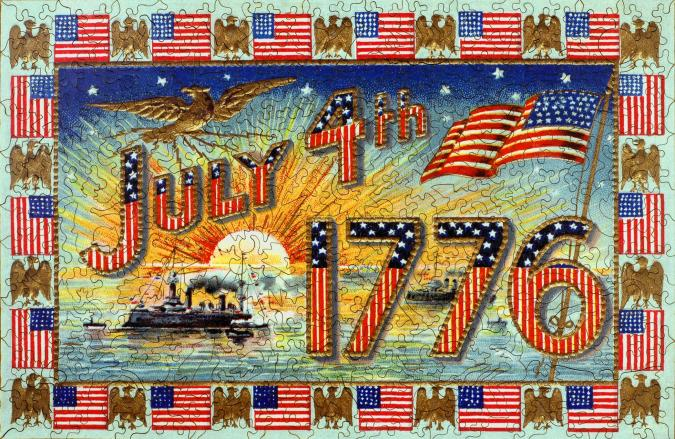 July 4, 1776 - Liberty Puzzles - 7