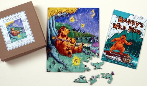 Barry the Bear BUNDLE - Liberty Puzzles - 5