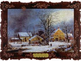 Winter in the Country, A Cold Morning - Liberty Puzzles - 2