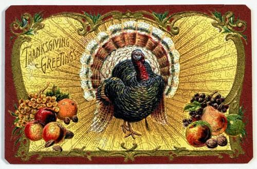 Thanksgiving Postcard - Liberty Puzzles - 7