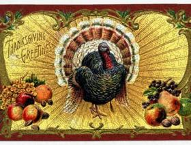 Thanksgiving Postcard - Liberty Puzzles - 2