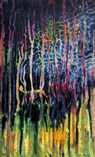 Worm Burning Bright in the Forest in the Night - Liberty Puzzles - 7