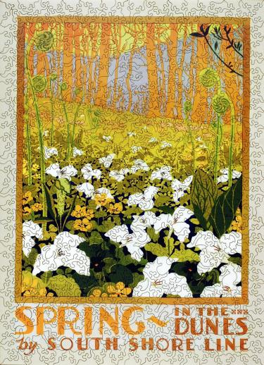 Spring in the Dunes - Liberty Puzzles - 7