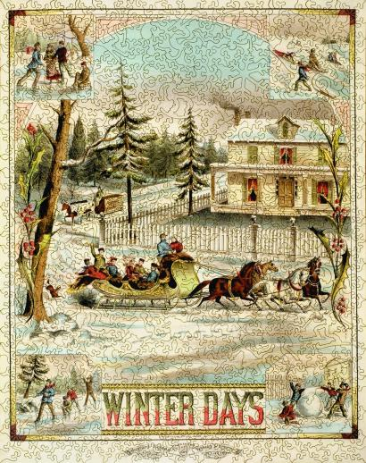 Winter Days - Liberty Puzzles - 7
