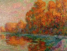 A River in Autumn - Liberty Puzzles - 2