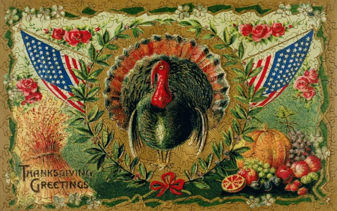 Patriotic Turkey - Liberty Puzzles - 7