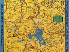 Hysterical Map of Yellowstone Park - Liberty Puzzles - 2