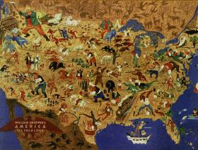 William Gropper's American Folklore - Liberty Puzzles - 2