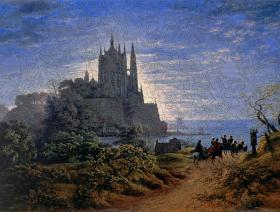 Gothic Church on a Rock by the Sea - Liberty Puzzles - 2
