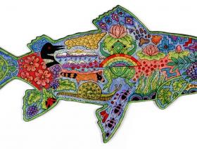 Rainbow Trout - Liberty Puzzles - 2