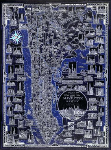New York City Pictorial Map - Liberty Puzzles - 7