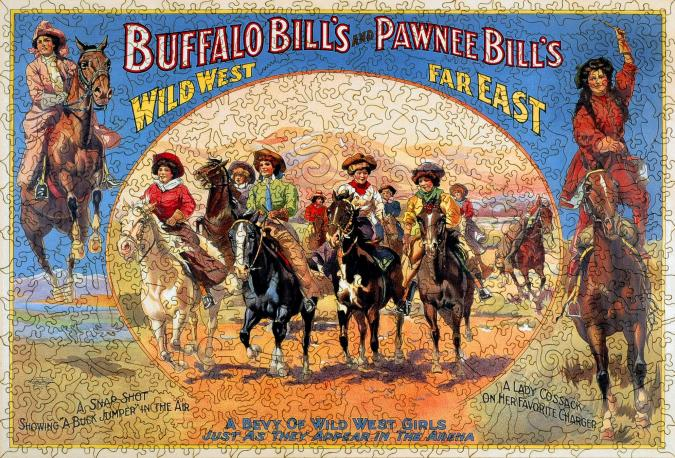 A Bevy of Wild West Women - Liberty Puzzles - 7