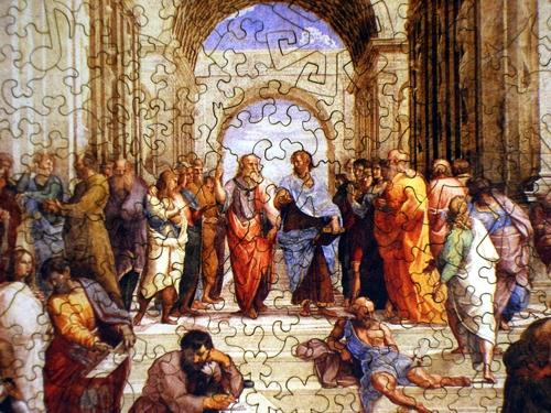The School of Athens - Liberty Puzzles - 8
