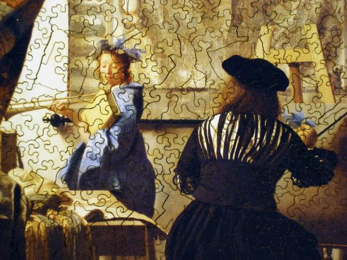 Allegory of Painting - Liberty Puzzles - 9