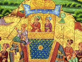 Procession of Akbar, King of the Mughals - Liberty Puzzles - 3