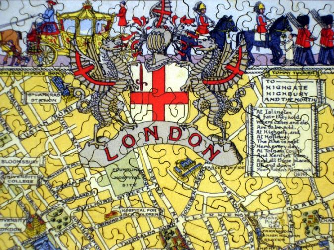 Map of London - Liberty Puzzles - 8