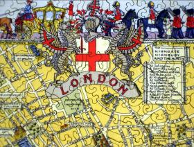 Map of London - Liberty Puzzles - 3