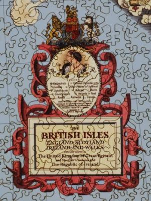 Map of the British Isles - Liberty Puzzles - 8