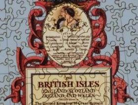 Map of the British Isles - Liberty Puzzles - 3