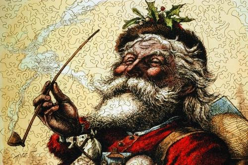Merry Old Santa Claus - Liberty Puzzles - 8