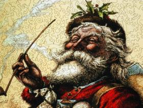 Merry Old Santa Claus - Liberty Puzzles - 3