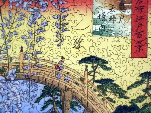 Precincts of the Tenjin Shrine at Kameido - Liberty Puzzles - 8
