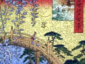 Precincts of the Tenjin Shrine at Kameido - Liberty Puzzles - 3