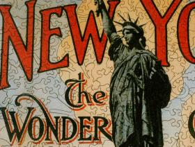 New York the Wonder City - Liberty Puzzles - 3