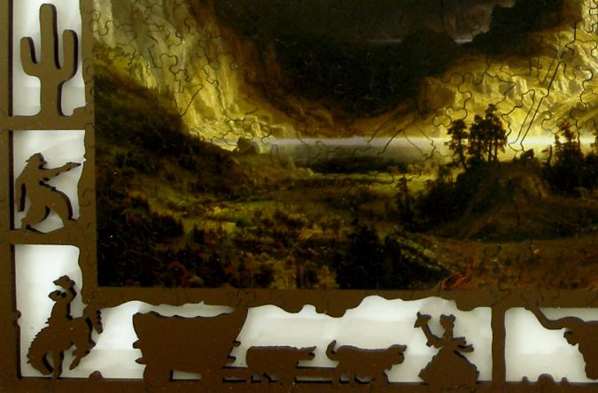 Storm in the Rocky Mountains - Liberty Puzzles - 8