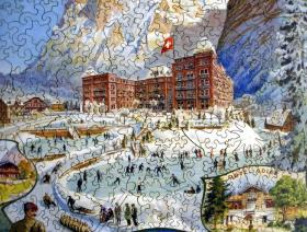 Grindelwald Winter Sport - Liberty Puzzles - 3