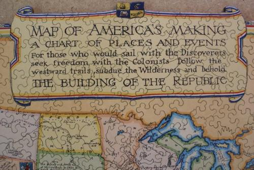 Map of America's Making - Liberty Puzzles - 8