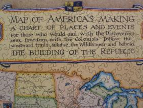 Map of America's Making - Liberty Puzzles - 3