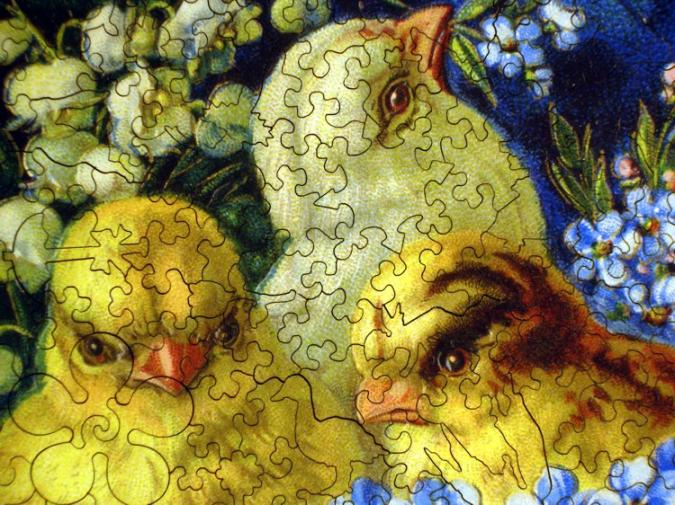 Easter Egg Chicks - Liberty Puzzles - 8