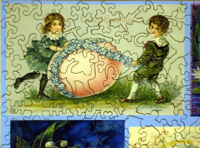 Easter Collage - Liberty Puzzles - 8