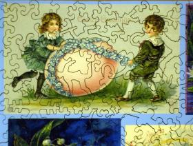Easter Collage - Liberty Puzzles - 3