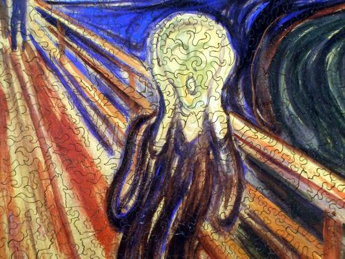 The Scream - Liberty Puzzles - 8