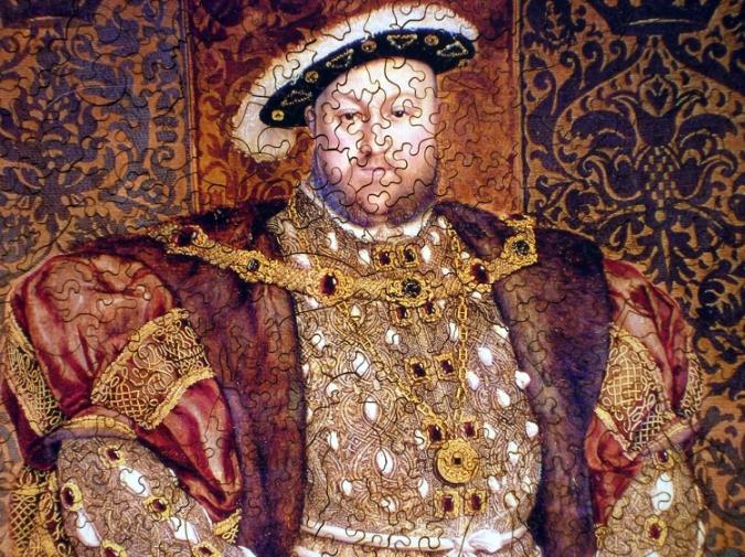 Portrait of Henry VIII - Liberty Puzzles - 8