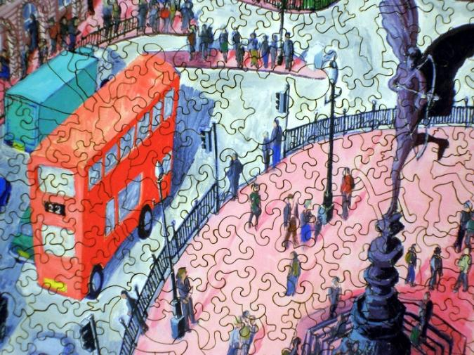 Piccadilly Circus - Liberty Puzzles - 8