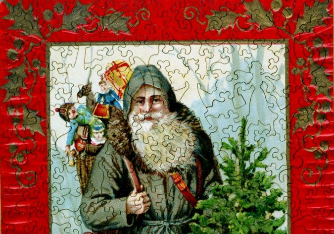 Father Christmas - Liberty Puzzles - 8