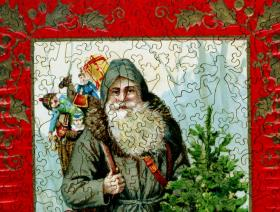 Father Christmas - Liberty Puzzles - 3