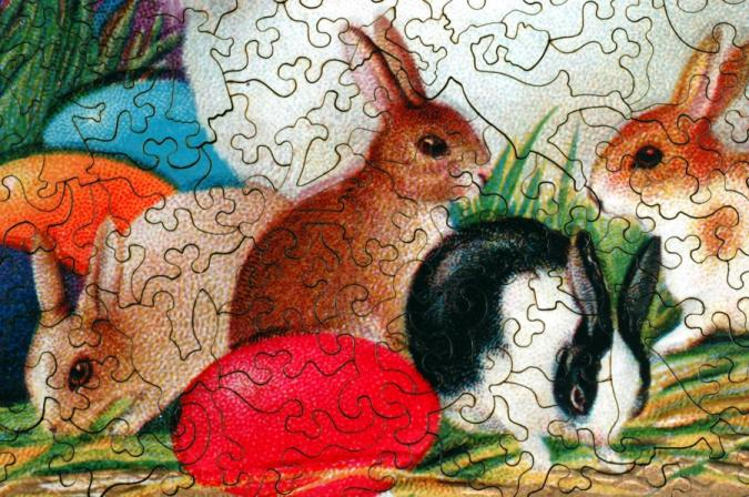 Hoppy Easter - Liberty Puzzles - 8