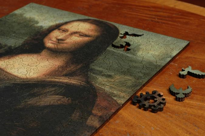 Mona Lisa - Liberty Puzzles - 8