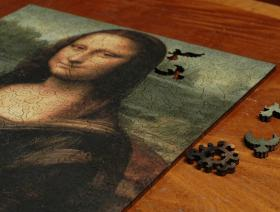 Mona Lisa - Liberty Puzzles - 3