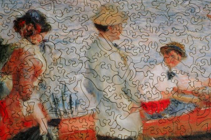Oarsmen at Chatou - Liberty Puzzles - 8