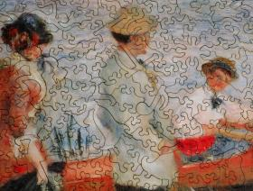 Oarsmen at Chatou - Liberty Puzzles - 3