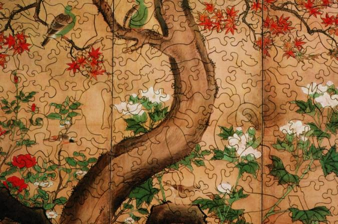 Flowers and Birds - Liberty Puzzles - 8