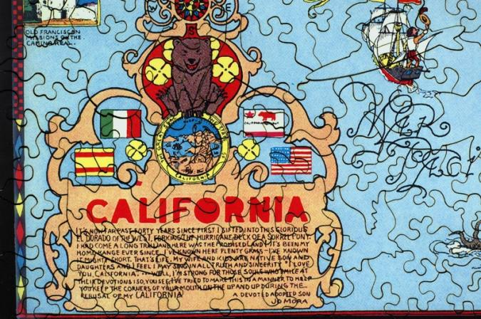 California - Liberty Puzzles - 8