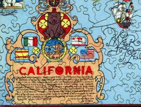 California - Liberty Puzzles - 3