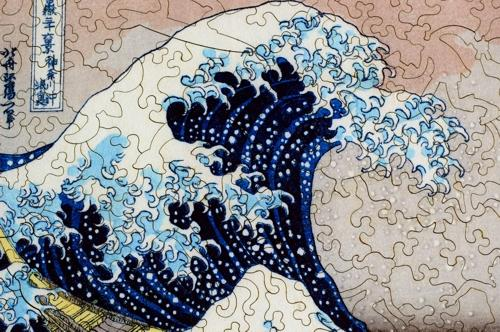 The Great Wave Large Piece - Liberty Puzzles - 8