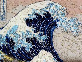 The Great Wave Large Piece - Liberty Puzzles - 3